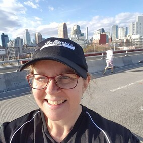 "Cindy Matthews - ""you will pleased to know I have lost 7kgs following my programme so starting to feel better and have been able to start running a little faster (actually feel like I'm running not wogging). And since I joined Parkrun have taken 3 minutes off my 5km time. 38mins instead of 41mins."""