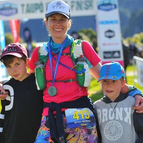 "Petra Hnykova - ""I really enjoyed training with Lisa and Neil for the Taupo Ultramarathon 50km. It was important to be able to fit the programme around my family, work & life. The programme was well balanced  and easy to follow. Thanks Lisa & Neil!"