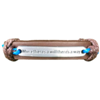 """Where There's A Will There's A Way"" Bracelet"